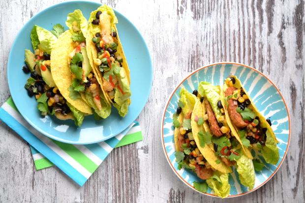 Tacos z rybą i tempeh / cosbymzjadla.com