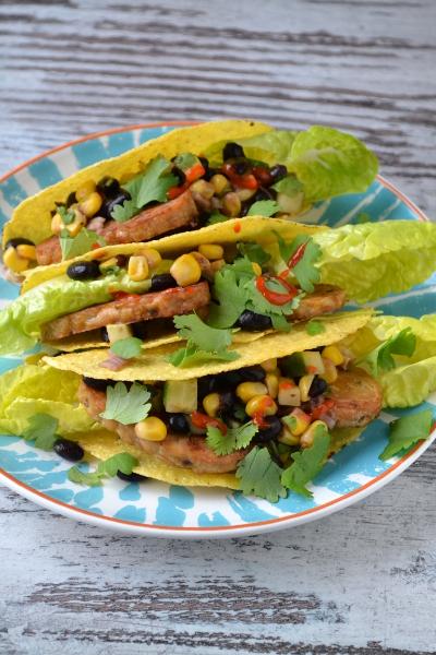 Tacos z tempeh / cosbymzjadla.com