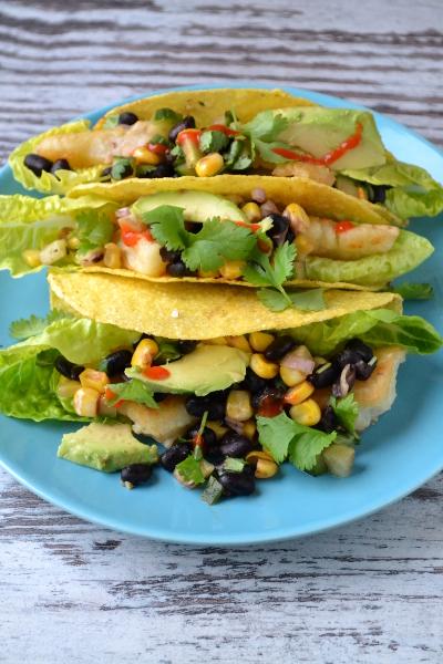 Tacos z rybą / cosbymzjadla.com