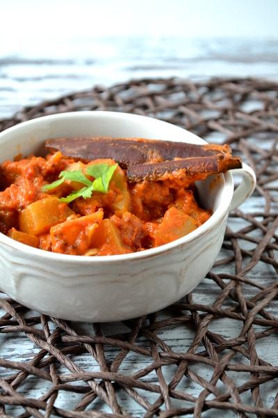 Curry z kalarepki / cosbymzjadla.com