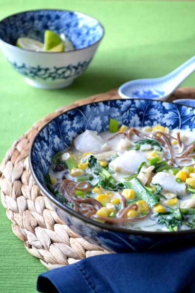 zupa tajska z ryba /cosbymzjadla.com